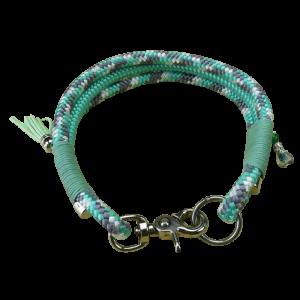 Halsband Kletterseil handgemacht