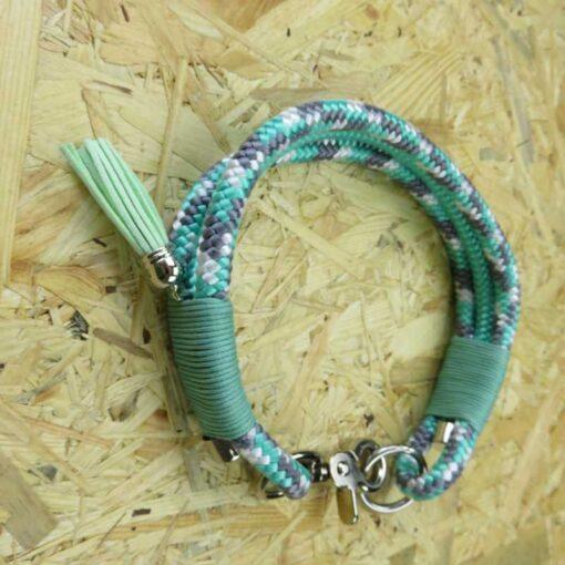 Kletterseil Halsband einzelstück handarbeit