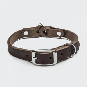 Cloud7 Halsband Riverside Park Saddle Brown