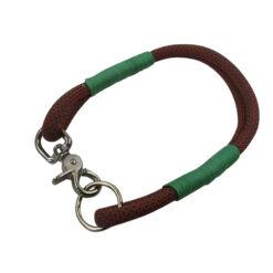 Kletterseil Halsband handarbeit