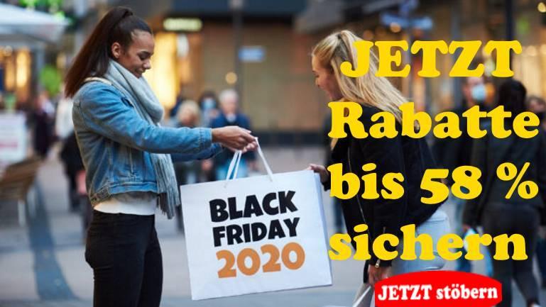 Black Friday Rabatte sichern